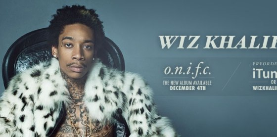 Wiz Khalifa ONIFC ALbum Release Date December 4th 2012