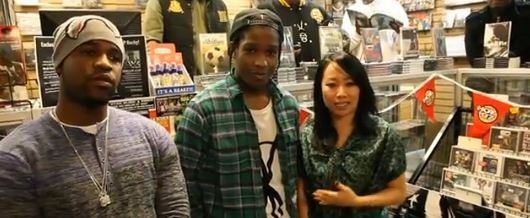 A$AP Rocky Inteview Miss Info
