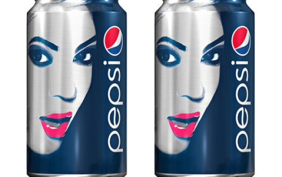 Beyonce on Pepsi Can