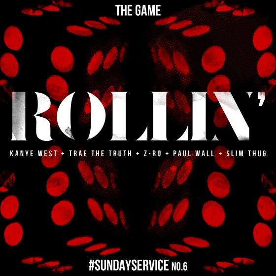 Game ROLLIN' feat. Kanye West, Trae The Truth, Z-Ro, Paul Wall & Slim Thug