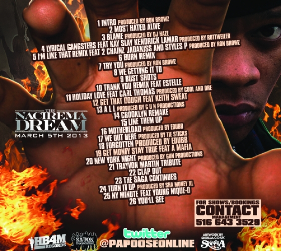 Papoose Most Hated Alive Tracklist