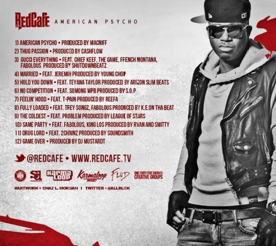 Red Cafe American Psycho Tracklist