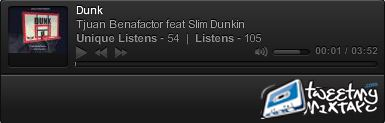 Tjuan Benafactor Dunk feat Slim Dunkin
