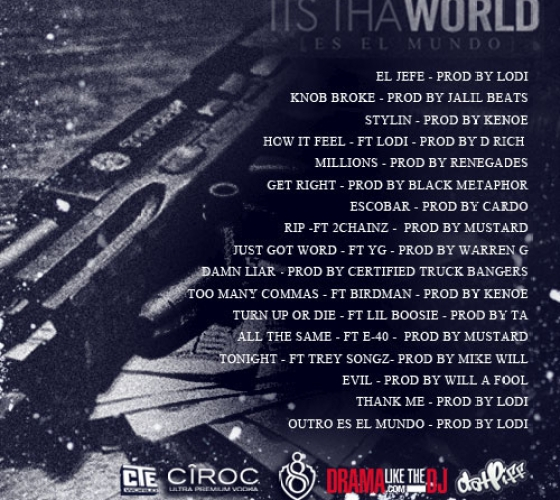 Young Jeezy Its Tha World Tracklist