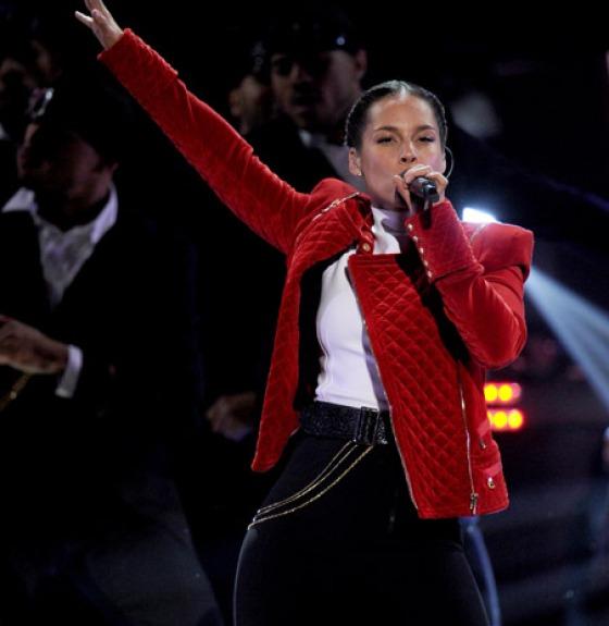 Alicia Keys People's Choice Awards 2013