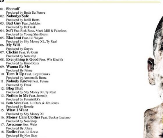 JUELZ SANTANA – 'GOD WILL'N' Tracklist
