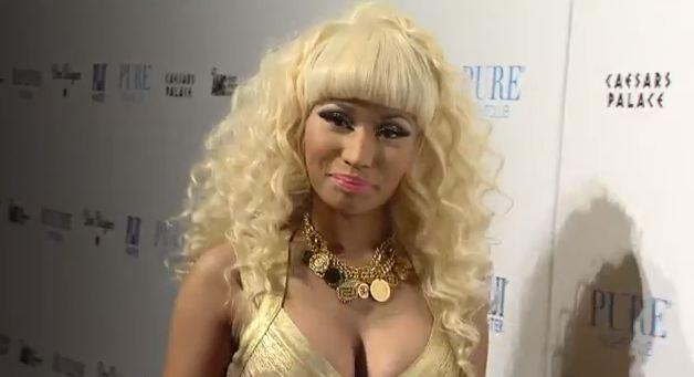 Nicki Minaj Pure Night Club New Years