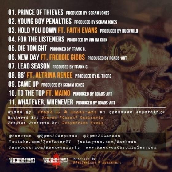 Raekwon_Lost_Jewlry Tracklist