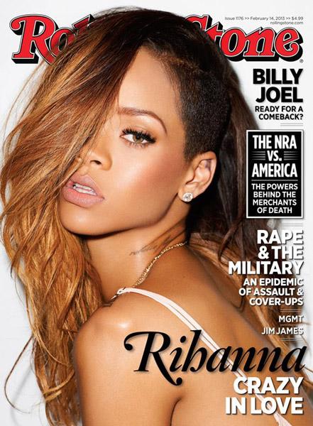 Rihanna Rolling Stone Cover Feb 2013