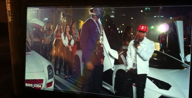 Tyga Ft. Game Switch Lanes Behind The Scenes