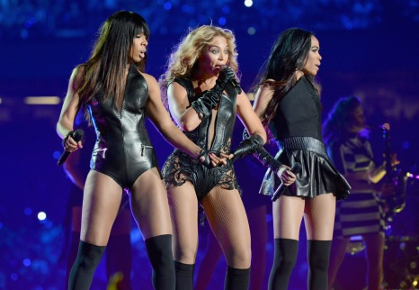 Beyonce SuperBowl XLVII Halftime Show Performance