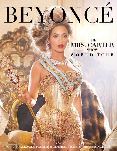 Beyonce 'The Mrs. Carter Show World Tour'