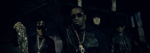 French Montana Ft. Diddy, MGK, Los, Red Cafe 'Ocho Cinco'