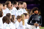 Jennifer Hudson At Super Bowl