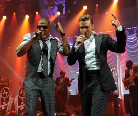 Justin Timberlake & Jay-Z Perform Live In New Orleans