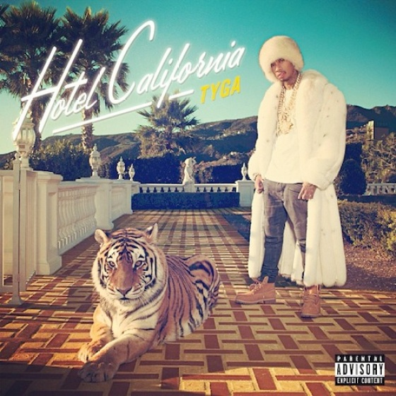 Tyga Hotel California Album Artwork
