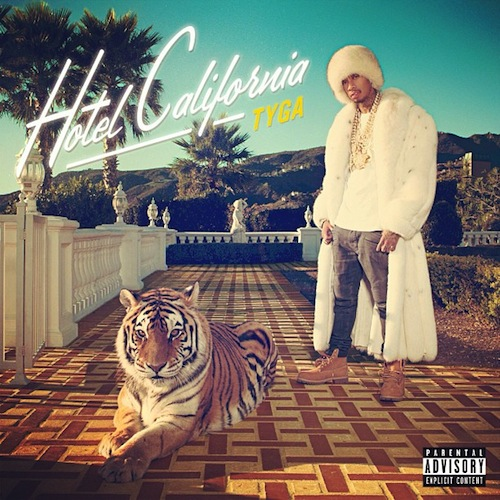 Tyga Hotel California Album Artwork
