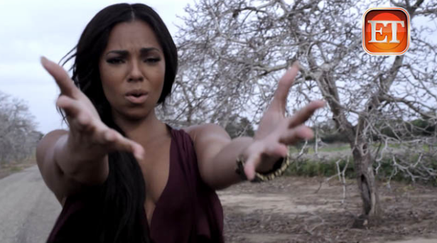 Ashanti 'Never Should Have' (Video)