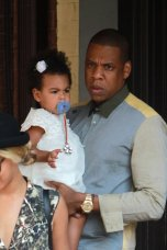 Jay-Z and Blue Ivy In Toronto 2013