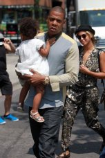 Jay-Z, Beyonce and Blue Ivy in Toronto 2013