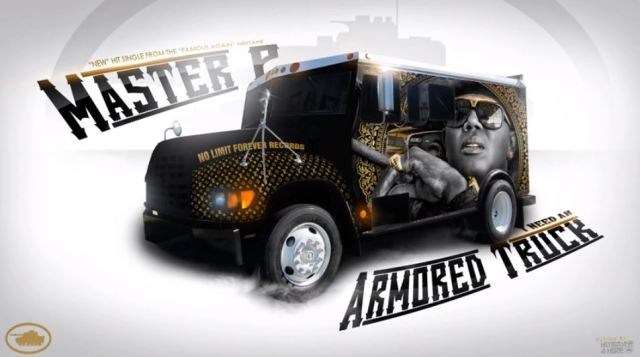 Master P Ft Romeo 'I Need Me An Armored Truck'