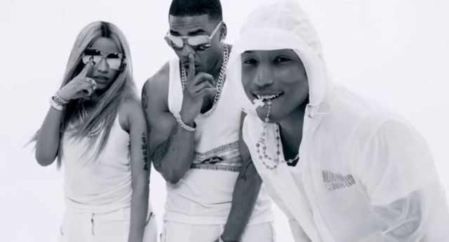 Nelly Ft. Nicki Minaj Pharrell Get Like Me