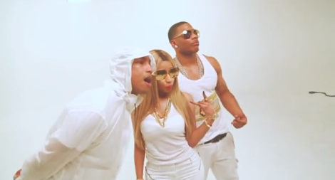 Nelly Ft. Nicki Minaj  Pharrell 'Get Like Me'