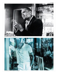 Chris Brown Blank Magazine Cover 2013 (3)