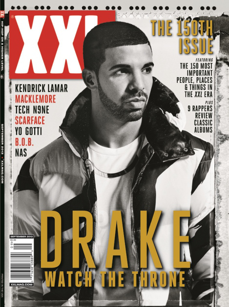 Drake XXL Cover August 2013