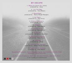 Trish 'My Escape' tracklist
