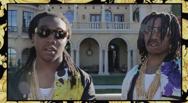 Migos 'Versace' Video Behind The Scenes