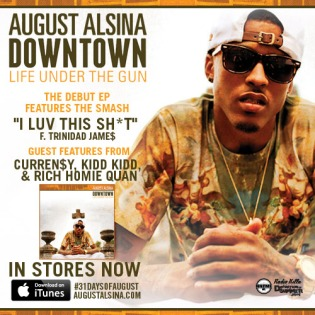 August Alsina 'Downtown'