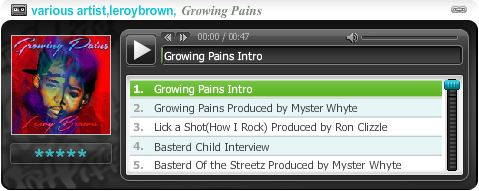 Leroy Brown 'Growing Pains' Mixtape