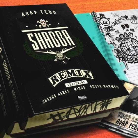 A$AP Ferg - Shabba Remix ft. Shabba Ranks, Busta Rhymes & Migos