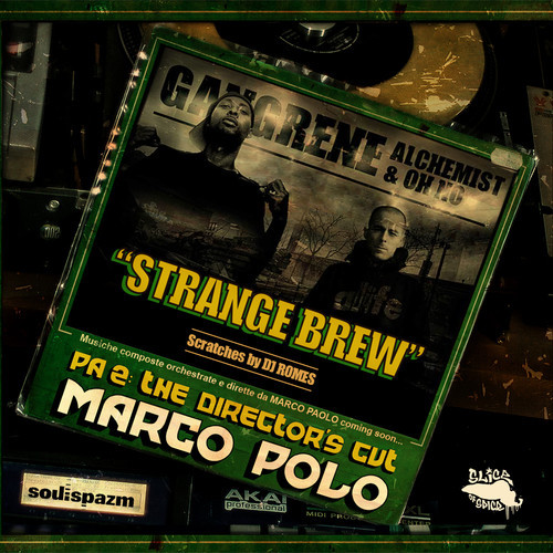 Marco Polo 'Strange Brew' f. Gangrene (Oh No & Alchemist)  DJ Romes