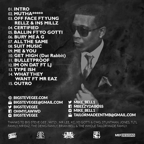 Tracklisting Mike Bell