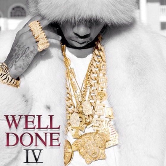 Tyga 'Well Done 4' Artwork