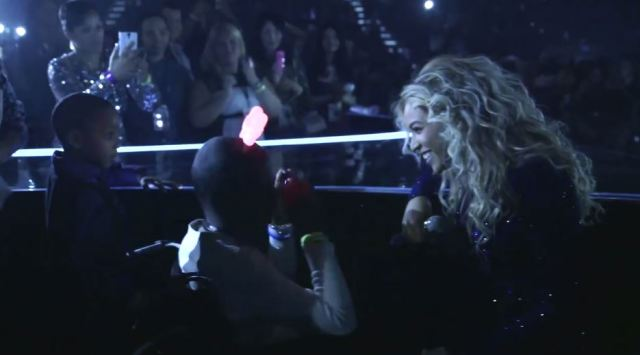 Beyonce Sings 'Survivor' With Teminally Ill Little Girl
