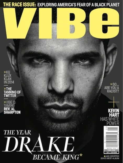 Drake Covers Vibe Issue 2013
