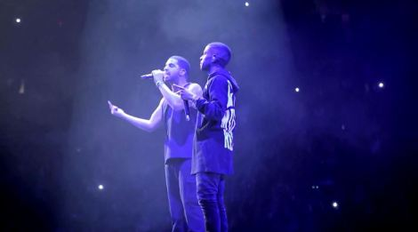 Drake Feat Big Sean - 'All Me' Live in Detroit