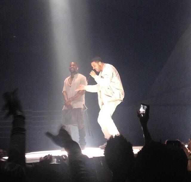 Kanye West Yeezus Tour Toronto Drake
