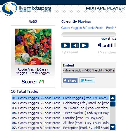 Rockie Fresh & Casey Veggies Mixtape
