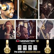 See Who's Wearing Meek Mill 24k Headphones