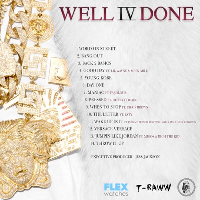 Tyga 'Well Done 4' Tracklisting