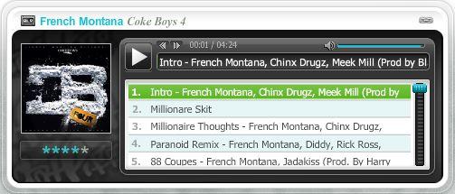 CB2 Mixtape Widget