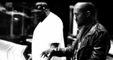 Rick Ross 'Bound 2' Freestyle Kanye West