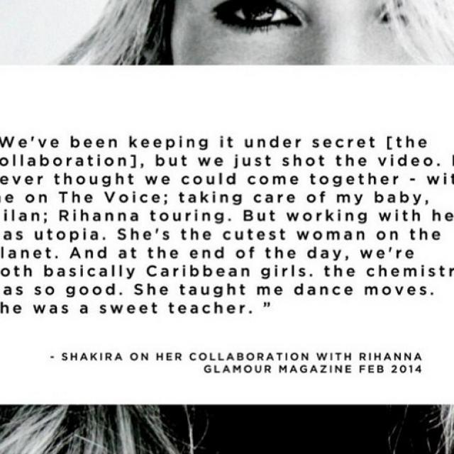 Shakira Talks Collaboration With Rihanna