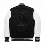 Drake OVO Roots Jacket Black and White