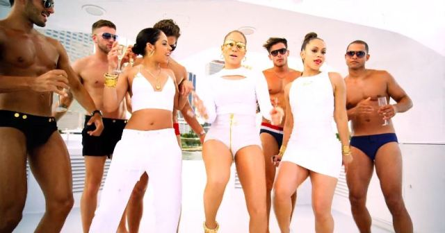 JENNIFER LOPEZ FT. FRENCH MONTANA 'I LUH YA PAPI' Video