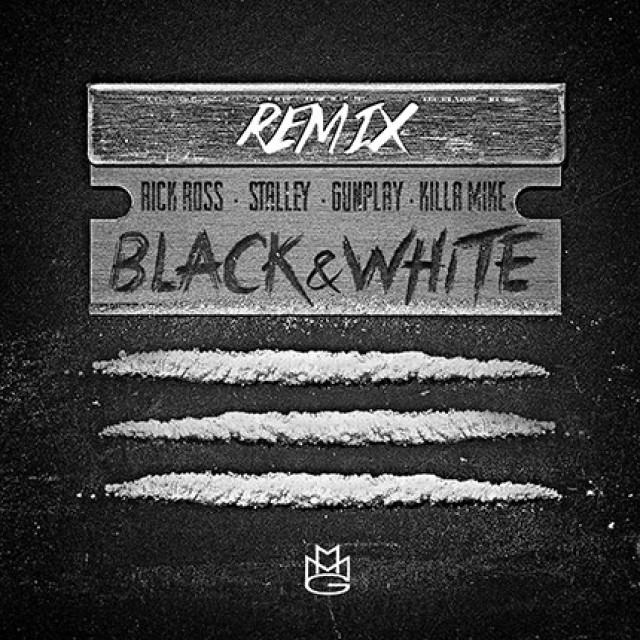 Rick Ross Black And White Remix